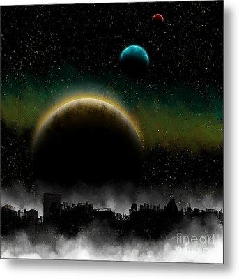 Distant Skys Metal Print