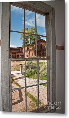 Metal Print featuring the photograph Distorted View Of The World by Sue Smith