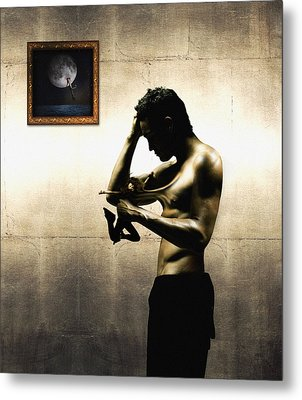 Divide Et Pati - Divide And Suffer Metal Print