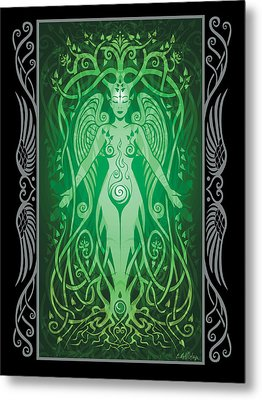 Divine Life V.2 Metal Print by Cristina McAllister