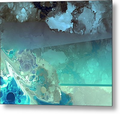 Diving Deep Metal Print by Steve Godleski