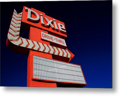 Dixie Drive Thru Metal Print