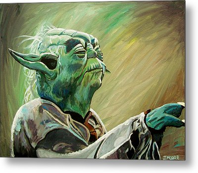 Do Or Do Not    There Is No Try Metal Print by Jeremy Moore