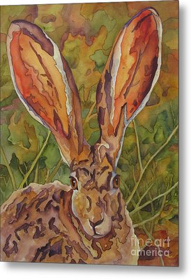 Do These Ears Make Me Look Fat Metal Print by Robin Hegemier