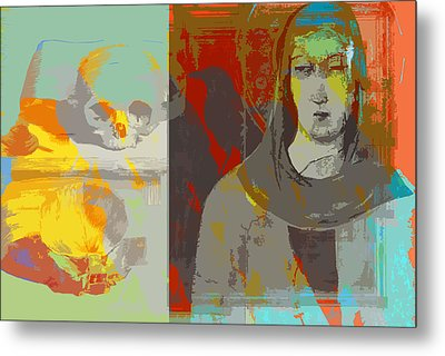 Do We See It Coming Metal Print