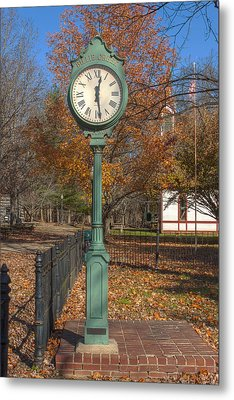 Do You Have The Time Metal Print by Thomas Sellberg