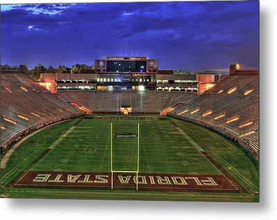 Doak Campbell Stadium Metal Print by Alex Owen