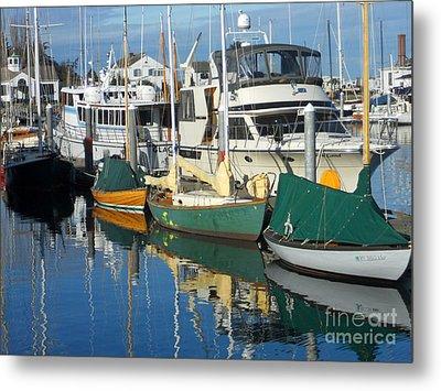 Dock Of The Bay Metal Print by Lauren Leigh Hunter Fine Art Photography