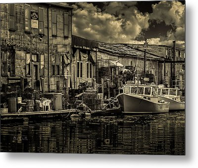 Dockside  Metal Print by Bob Orsillo