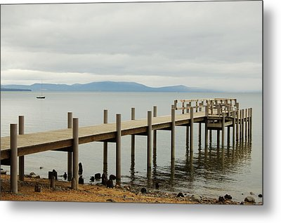 Dockside Metal Print by Tamyra Crossley