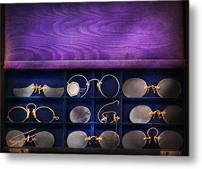 Doctor - Optometrist - Many Styles To Choose From  Metal Print by Mike Savad