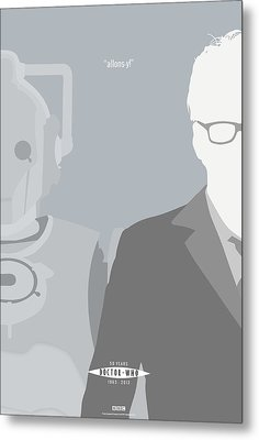 Doctor Who 50th Anniversary Poster Set Tenth Doctor Metal Print