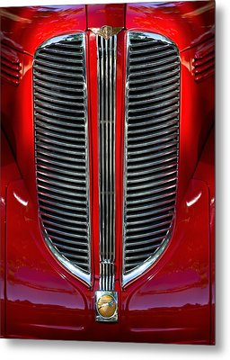 Dodge Brothers Grille Metal Print by Jill Reger