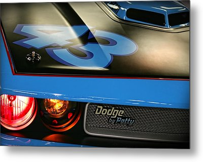 Metal Print featuring the photograph Dodge By Petty by Gordon Dean II