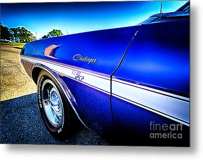Dodge Challenger At Car Show Metal Print by Danny Hooks