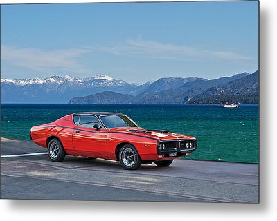 Dodge Charger 440 Magnum Metal Print by Dave Koontz