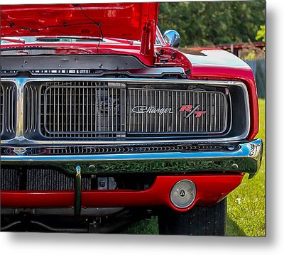 Metal Print featuring the photograph Dodge Charger Rt Classic  by Trace Kittrell