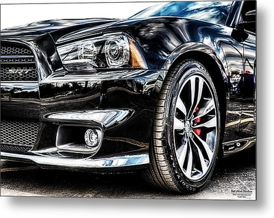 Dodge Charger Srt Metal Print by Michael White