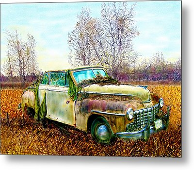 Dodge Coupe Convertible Metal Print