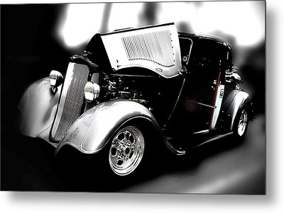 Classic Car Metal Print featuring the photograph Dodge Power by Aaron Berg