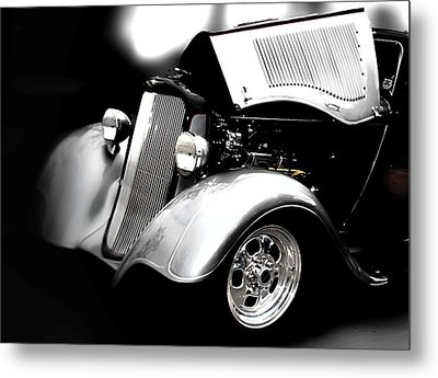 Classic Car Metal Print featuring the photograph Dodge This by Aaron Berg