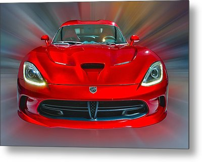 Dodge Viper Srt  2013 Metal Print