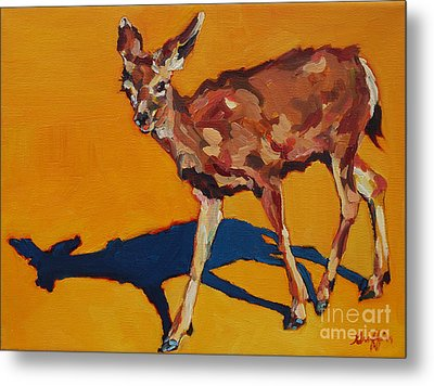Doe At Grand Canyon Metal Print