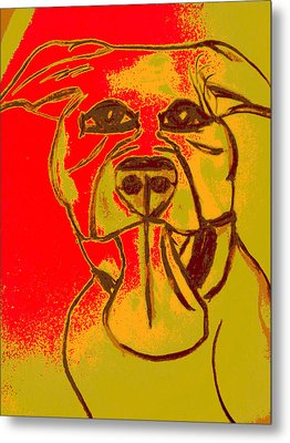 Dog Breath Metal Print by Erica  Darknell