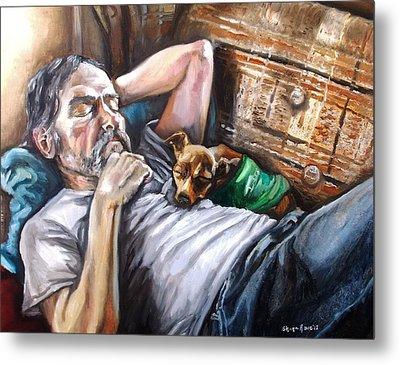Dog Days Metal Print by Shana Rowe Jackson