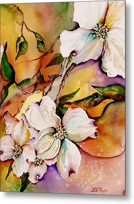 Dogwood In Spring Colors Metal Print