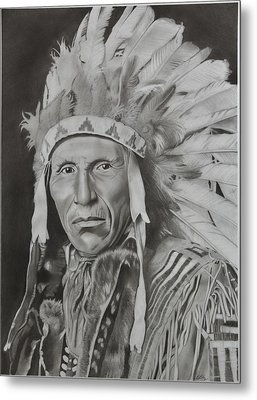 Dokata Chief Metal Print