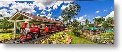 Dole Plantation Train 3 To 1 Aspect Ratio Metal Print by Aloha Art