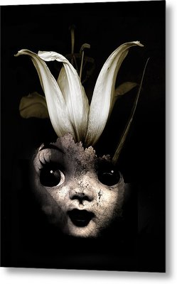Doll Flower Metal Print by Johan Lilja