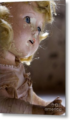 Doll In The Attic Metal Print