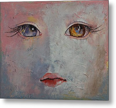 Baby Doll Metal Print by Michael Creese