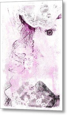 Metal Print featuring the digital art Dolly by Davina Washington