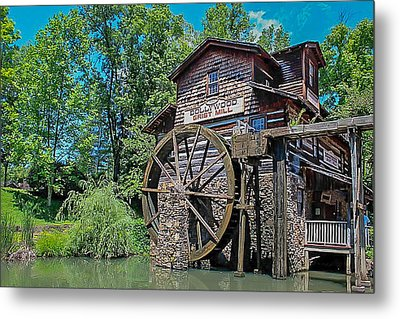 Metal Print featuring the photograph Dollywood  by Trace Kittrell