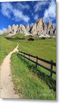 Dolomiti - Cir Group Metal Print by Antonio Scarpi