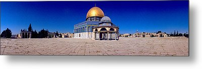 Dome Of The Rock, Temple Mount Metal Print