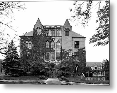 Dominican University Lewis Hall Metal Print by University Icons
