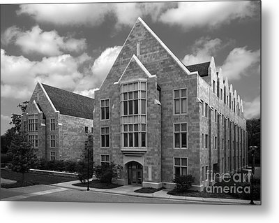 Dominican University Parmer Hall Metal Print by University Icons