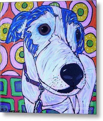 Domino Dog Metal Print by Susan Sorrell