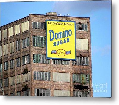 Domino Metal Print by Ed Weidman