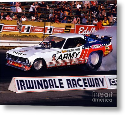 Don The Snake Prudhomme Irwindale Raceway 1970s Metal Print