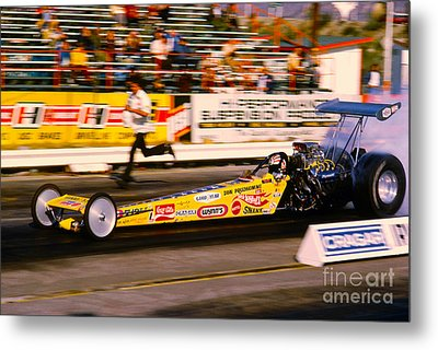Don The Snake Prudhomme Hot Wheels Top Fuel Dragster Metal Print