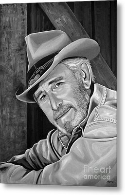Don Williams Metal Print by Meijering Manupix