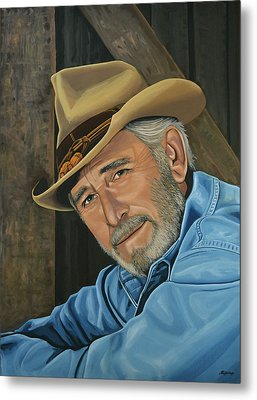 Don Williams Painting Metal Print