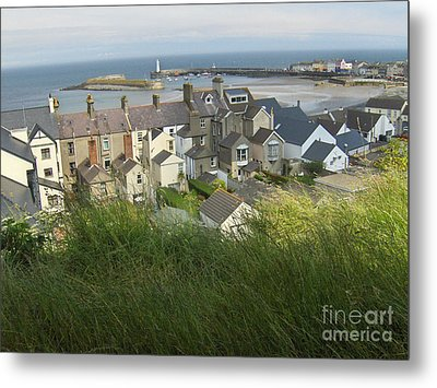 Donaghadee Northern Ireland View From The Moat Metal Print by Brenda Brown