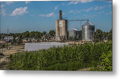 Donahue Iowa Metal Print by Ray Congrove