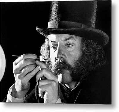 Donald Sutherland In The First Great Train Robbery  Metal Print by Silver Screen